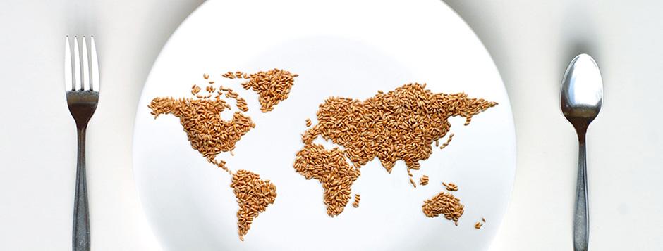 Seeds in Shape of World