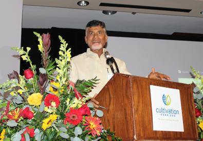 Andhra Pradesh CM Speaks at Governor's Reception