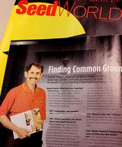 Seed World Article Manjit Misra