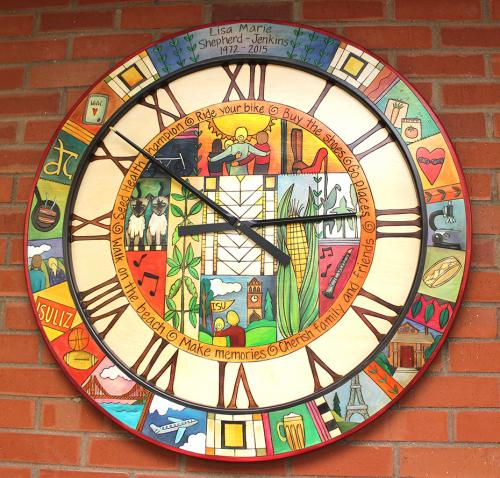 Sticks Memorial Clock